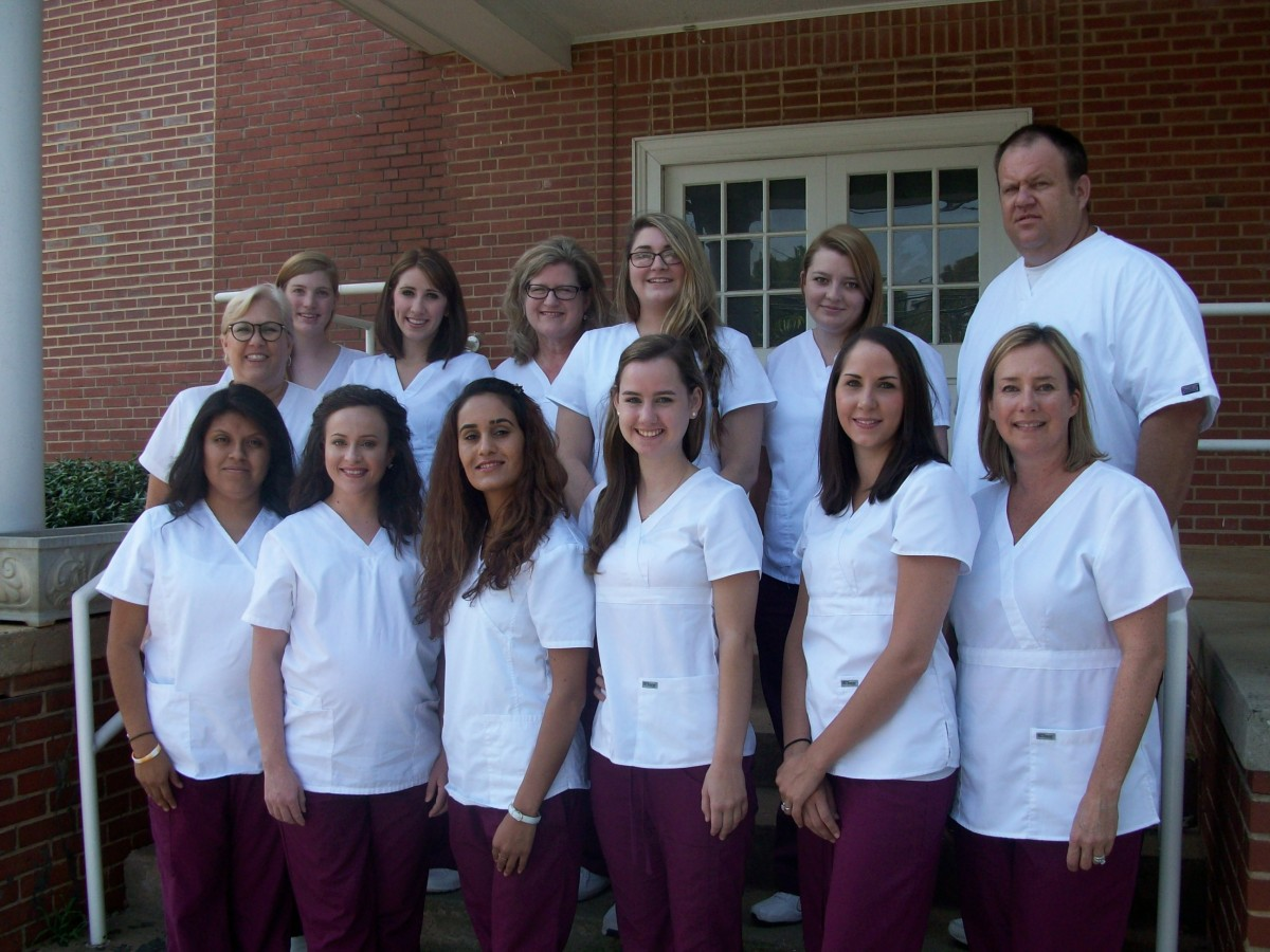 Students Complete Cna Program Mitchell Community College Serving