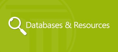 Databases and Resources Button