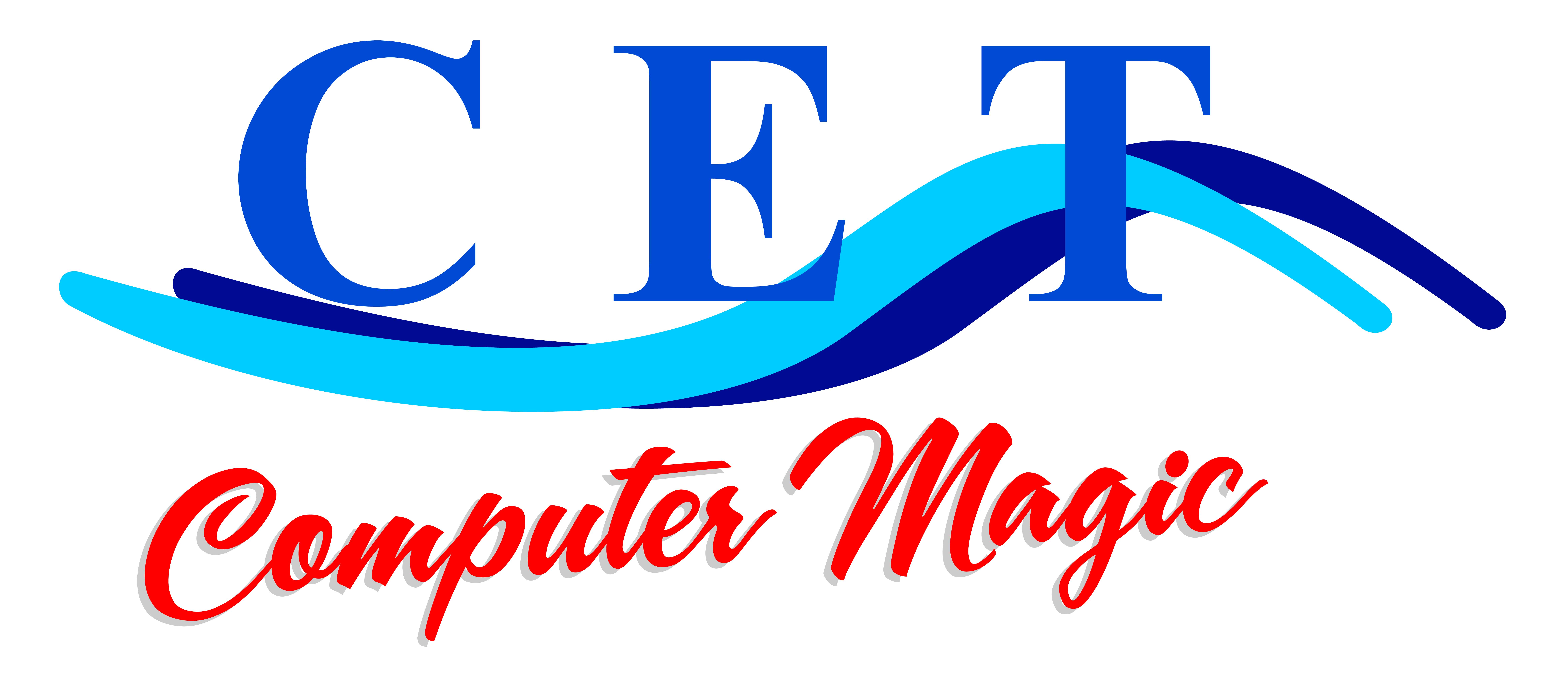 CET Computer Magic Logo