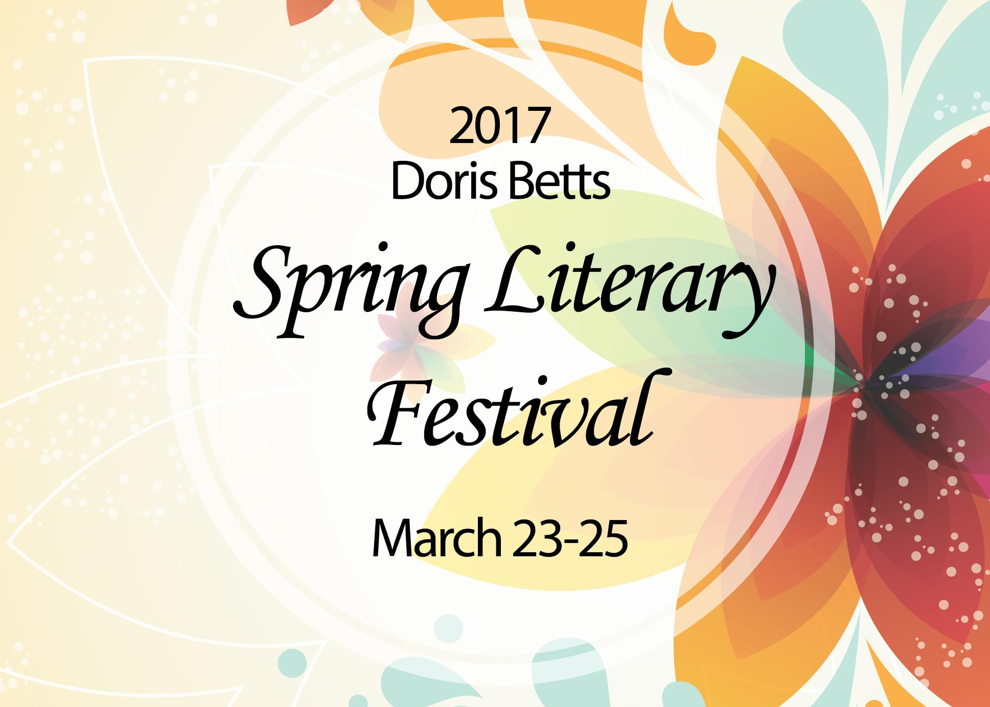 2017 Spring Literary Festival
