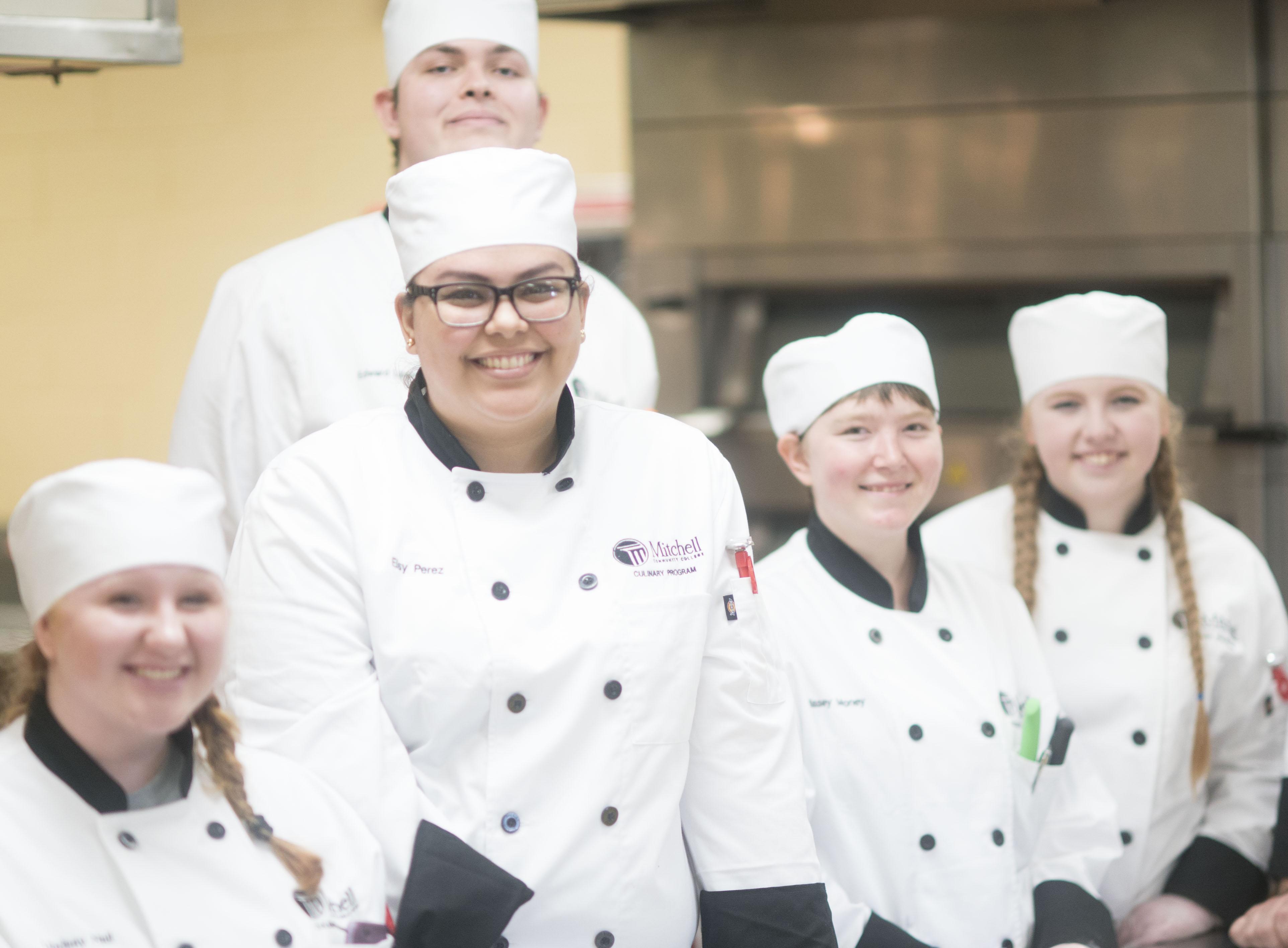 Mitchell Culinary Skills I students