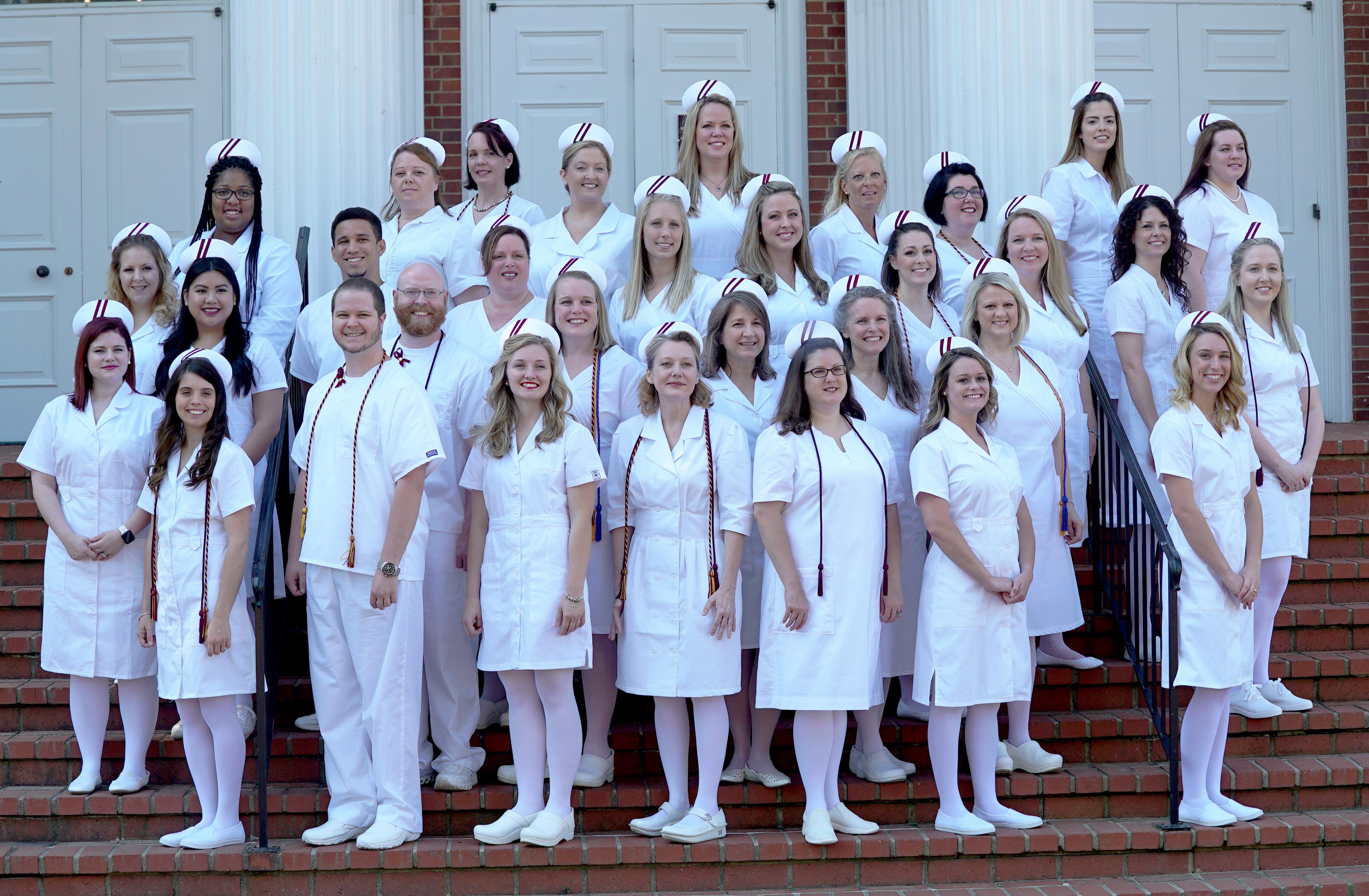 Holbrook Huskins Nursing graduates 2017