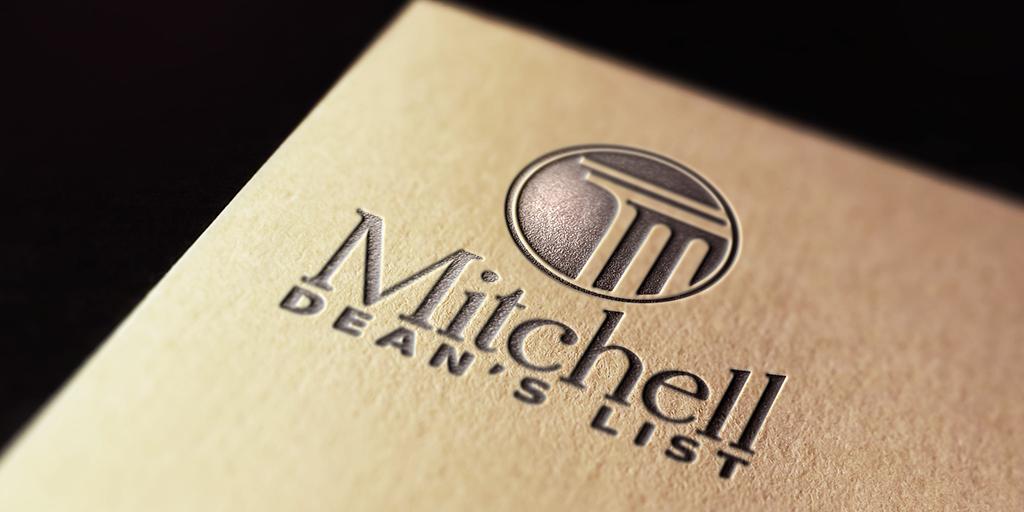Mitchell announces spring 2019 Dean's List