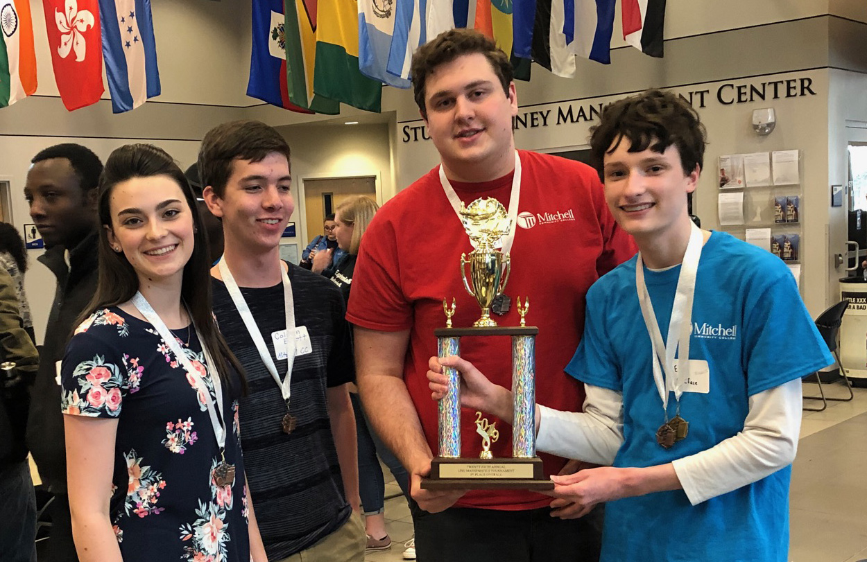 Mitchell students place in multi-state math tournament.