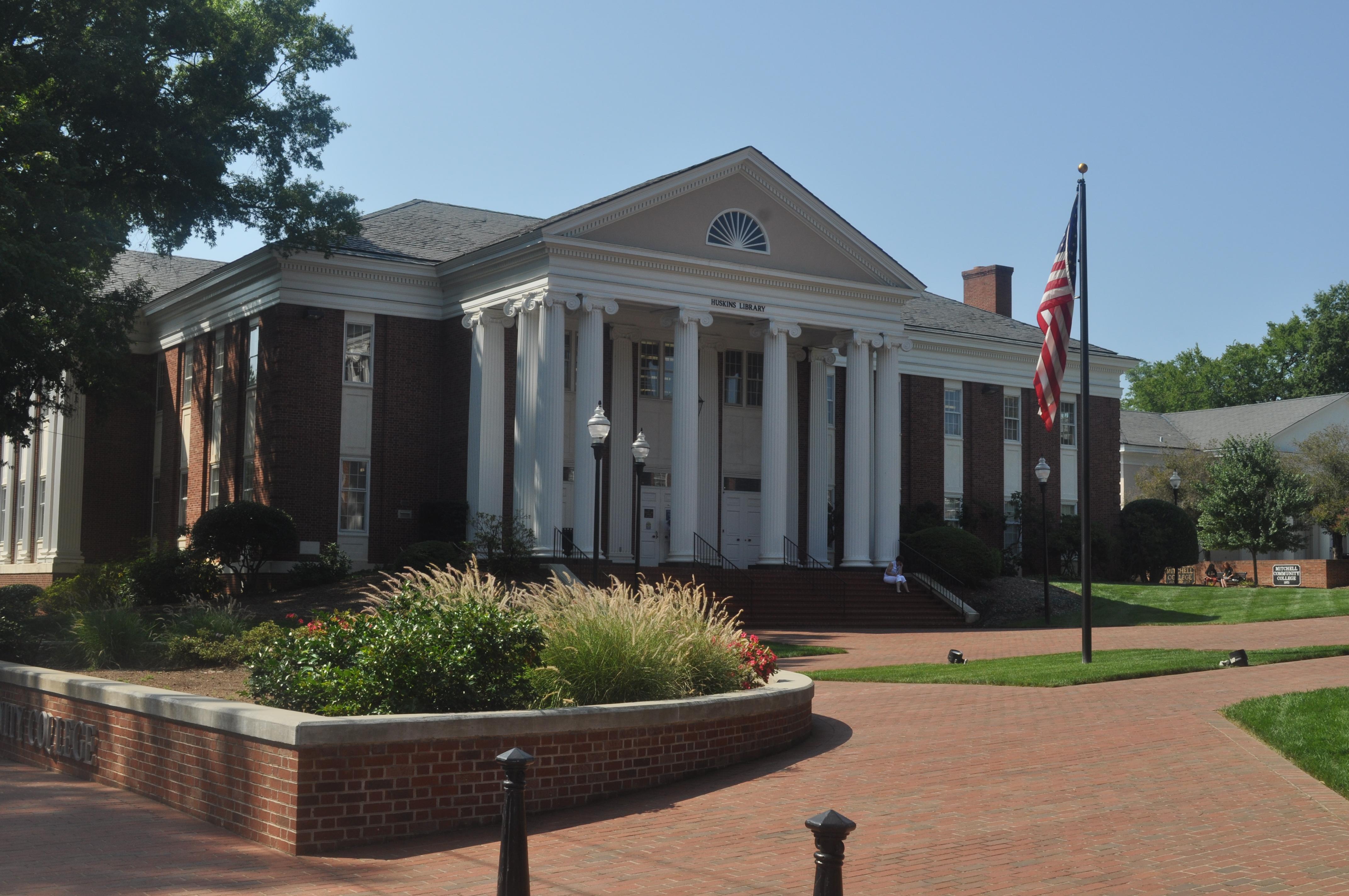 Huskins Library.