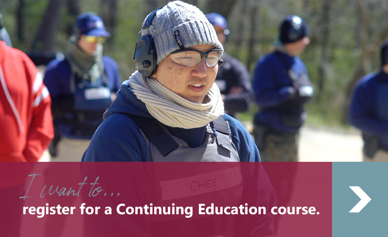I want to register for a Continuing Education course.