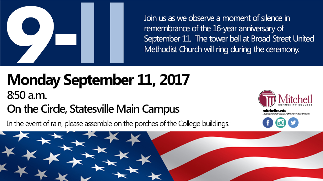 September 11 Ceremony 2017