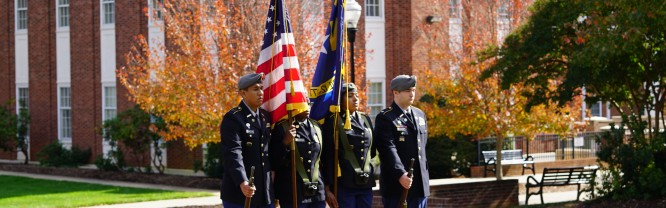 Statesville High School JROTC, Color Guard at 2016 Veterans Day Ceremony