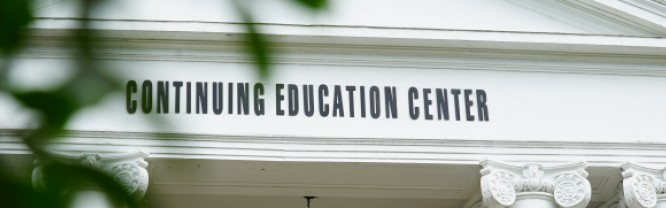 An image of Mitchell's Continuing Education Center, where Adult Basic Education classes are held.