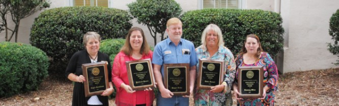 2016 Excellence in Education Award Winners