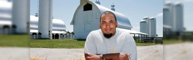 Jason Brown at First Fruits Farm