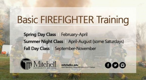 Basic Fire Training course offered annually