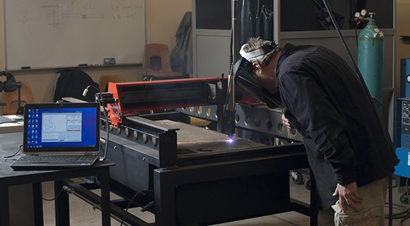 Basic Skills Plus students may choose the Welding pathway.