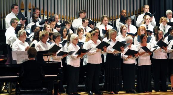Community Chorus sings