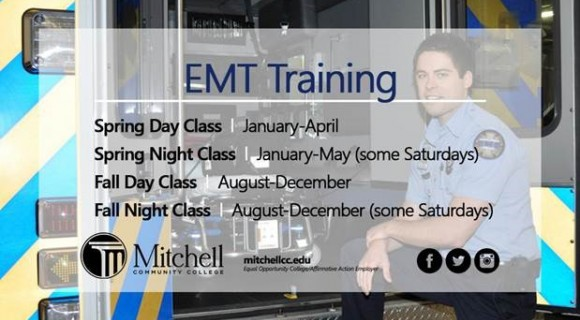 Emt Basic Mitchell Community College Serving Iredell