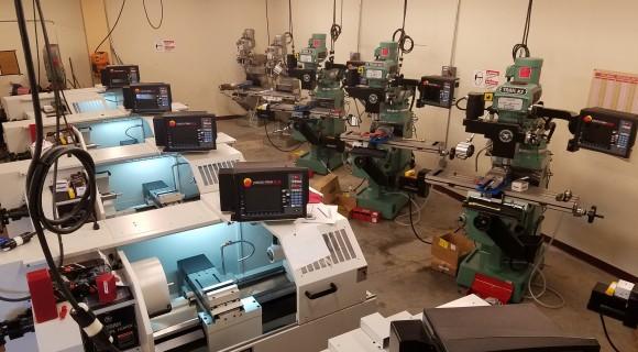 Mitchell's new CIM lab