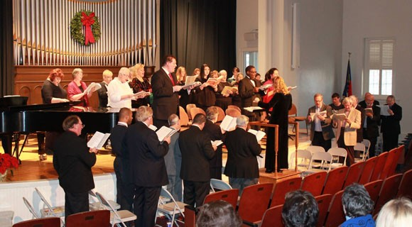 Walk-in Messiah Performance on Dec. 7, 2014