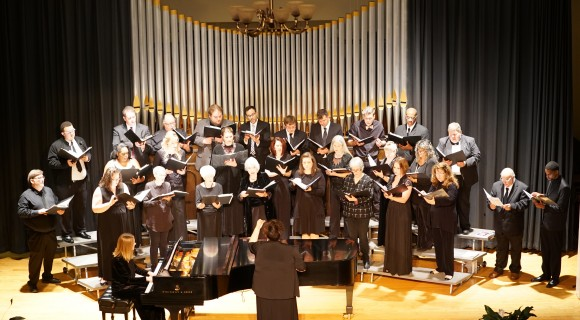 Community Chorus performing in Shearer Hall