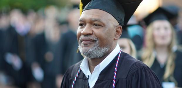 A graduating student.
