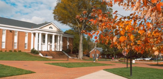 Statesville Campus in the fall