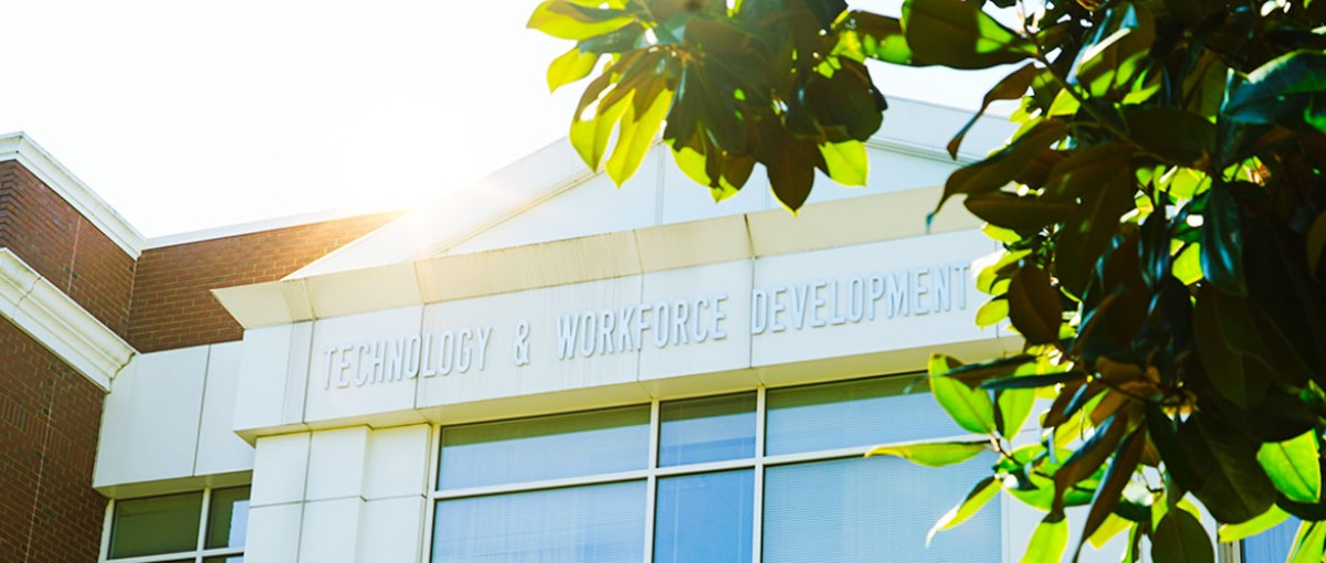 Technology and workforce development building