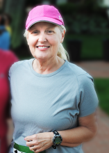 Beverly Hedrick at a Mitchell 5k