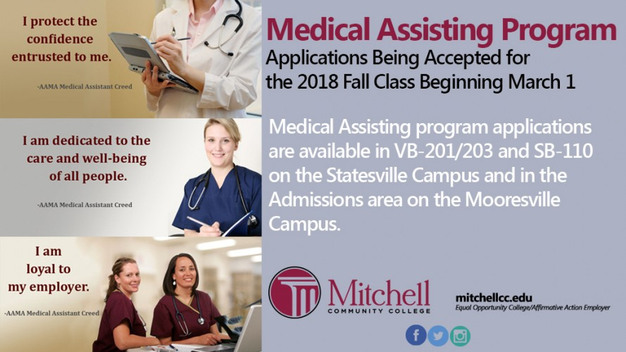 Medical Assistant Applications 2018