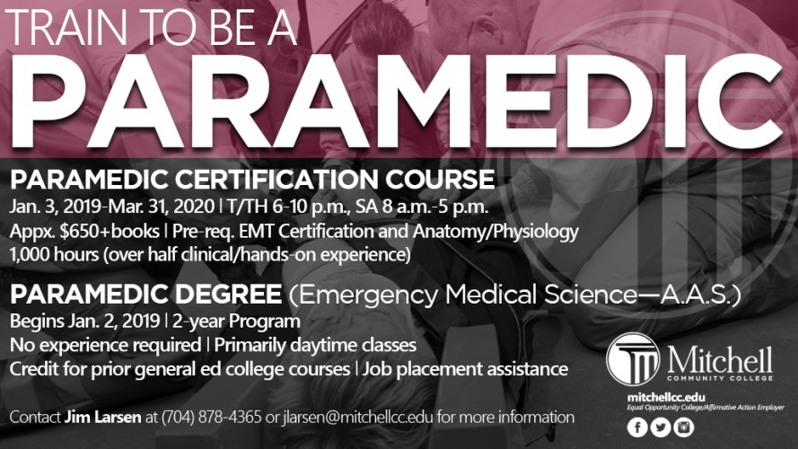 Paramedic Training May 2018