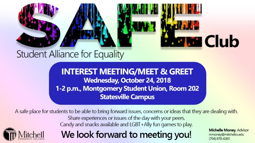 SAFE Club Interest Meeting
